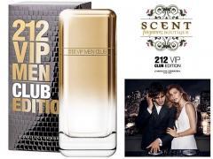 Carolina Herrera 212 VIP MEN CLUB Edition- 2