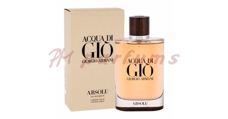 Armani Acqua di Gio Absolu Eau de Parfum Pour Homme