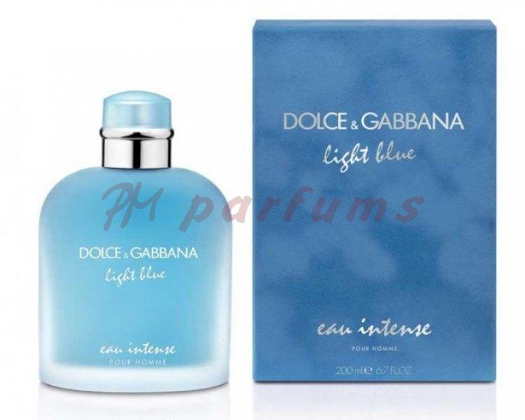 Dolce & Gabbana Light Blue Pour Homme Eau Intense